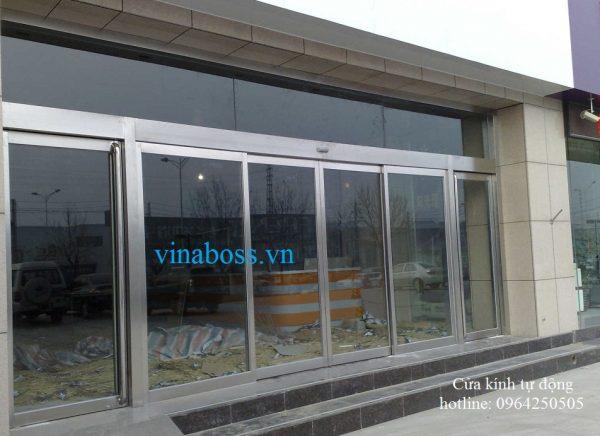 cửa kính tự đông vinaboss